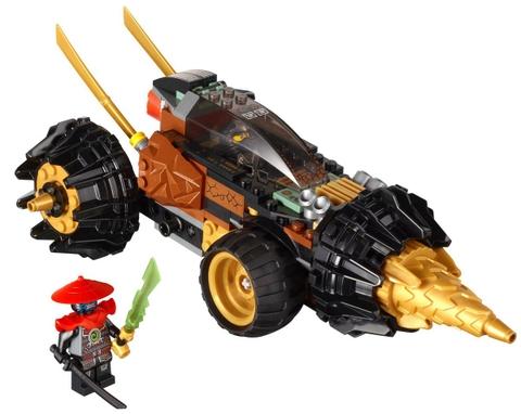 Sản phẩm Lego Ninjago 70502 - Xe Chiến Đấu Máy Khoan sau khi hoàn thành