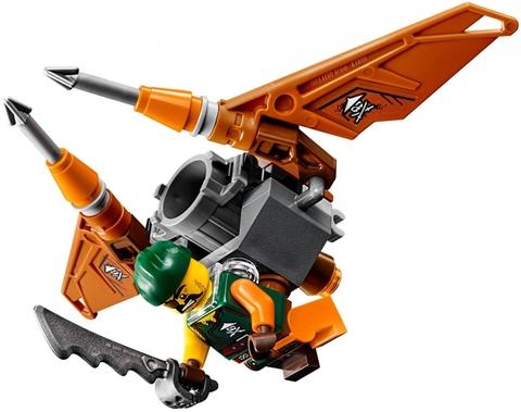 Các nhân vật xuất hiện trong bộ Lego Ninjago 70600 - Xe địa hình Ninja