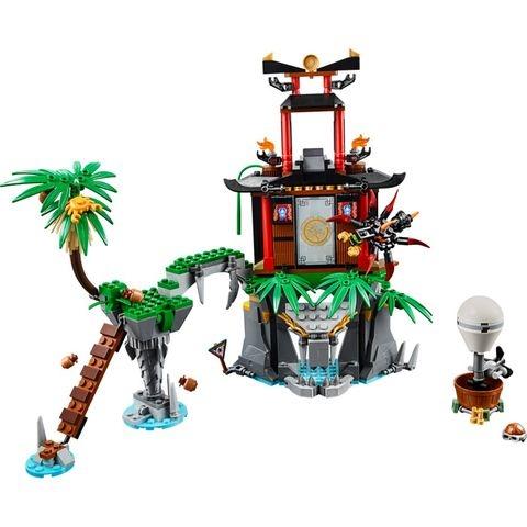 Bộ xếp hình Lego Ninjago 70604 - Đảo Nhện Độc