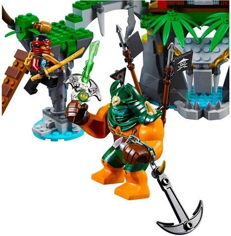 Bộ Lego Ninjago 70604 - Đảo Nhện Độc giúp phát triển kỹ năng cho bé