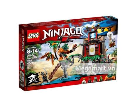 Hộp đựng bên ngoài Lego Ninjago 70604 - Đảo Nhện Độc