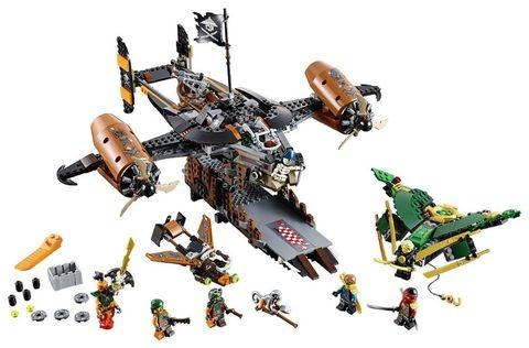 Lego Ninjago 70605 - Tàu Bay Tai Họa cuộc chiến trên không hấp dẫn