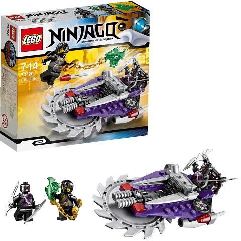 Các chi tiết trong bộ Lego Ninjago 70720 - Cỗ Máy Lưỡi Cưa