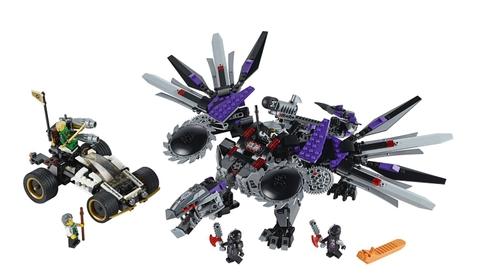 Đồ chơi Lego Ninjago 70725 - Rồng Máy Nindroi mạnh mẽ