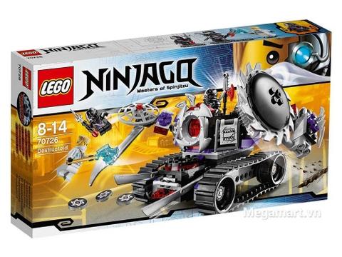 Hình ảnh vỏ hộp bộ Lego Ninjago 70726 - Cỗ Máy Hủy Diệt