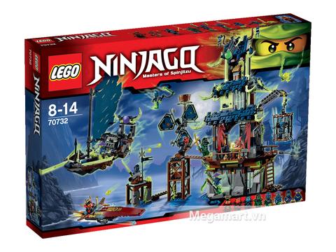 Vỏ hộp sản phẩm Lego Ninjago 70732 - Ngôi làng Stiix