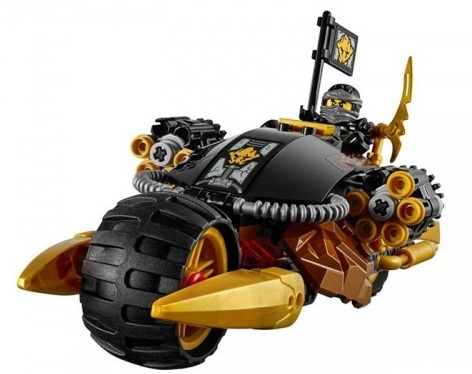 Các mô hình ấn tượng trong bộ Lego City 60152 - Xe quét và xe đào đường