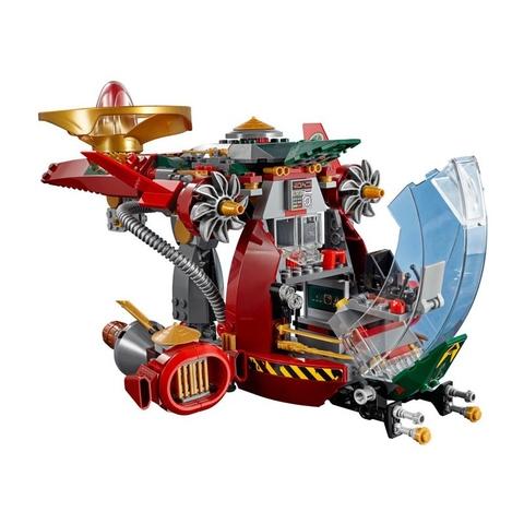 Lego Ninjago 70735 - Tàu Chiến Ronin R.E.X với mô hình tàu chiến độc đáo