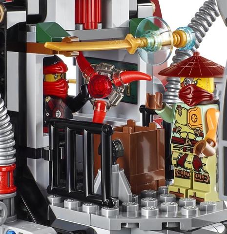 Hình ảnh bộ sản phẩm Lego Ninjago 70735 - Tàu Chiến Ronin R.E.X