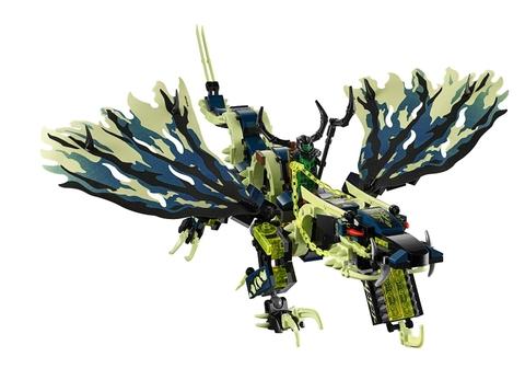 Cánh của rồng Morro được Lego làm bằng chất liệu đặc biệt vô cùng chân thật