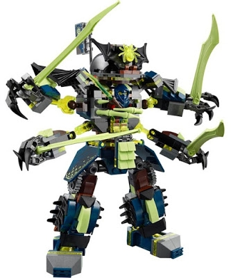 Đồ chơi Lego Ninjago 70737 - Cuộc chiến của những tên khổng lồ Mech