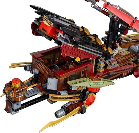 Mô hình chuyên cơ trong Lego Ninjago 70738 - Chuyến Bay Cuối Cùng Của Destiny's Bounty