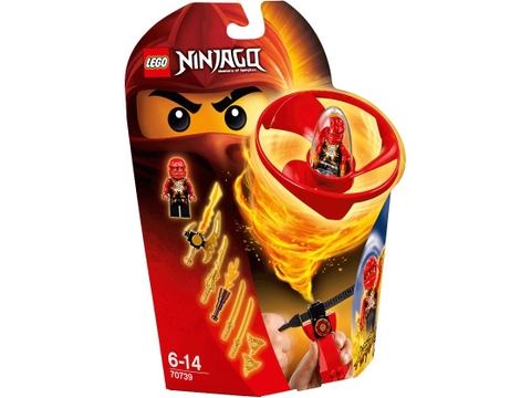 Hình ảnh vỏ hộp bộ Lego Ninjago 70739 - Lốc Xoáy Trên Không của Kai