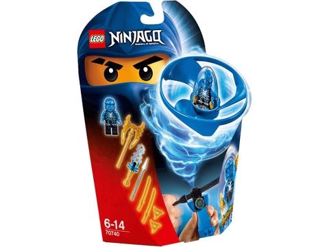 Hình ảnh vỏ hộp bộ Lego Ninjago 70740 - Lốc Xoáy Trên Không của Jay