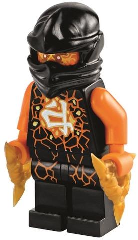 Nhân vật Cole trong bộ Lego Ninjago