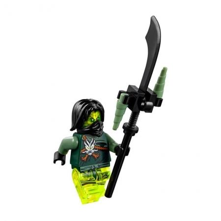 Nhân vật Morro được trang bị nhiều vũ khí tối tân hiện đại trong dòng Lego Ninjago nổi tiếng