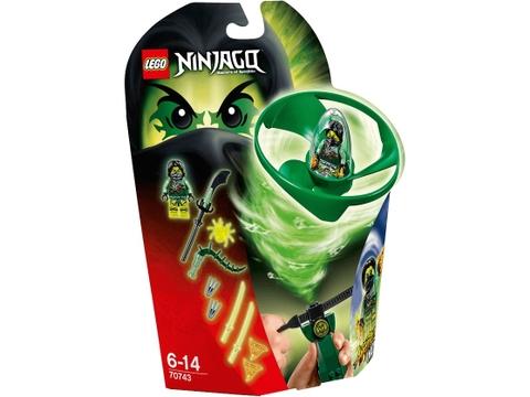Hình ảnh vỏ hộp bộ Lego Ninjago 70743 - Lốc Xoáy Trên Không của Morro