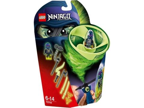 Hình ảnh vỏ hộp bộ Lego Ninjago 70744 - Lốc Xoáy Trên Không của Wrayth