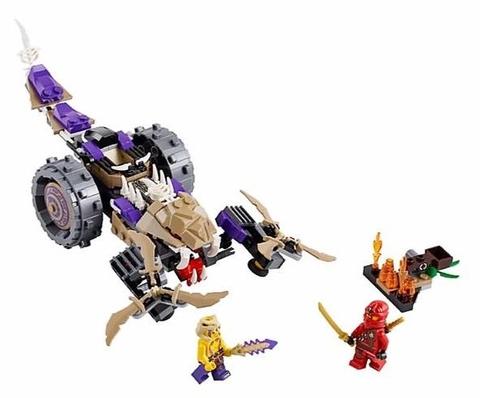 Đồ chơi Lego Ninjago 70745 - Máy Nghiền Độc Xà thú vị