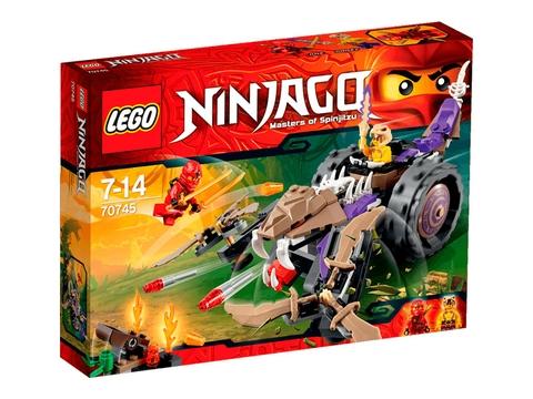 Vỏ hộp Lego Ninjago 70745 - Máy Nghiền Độc Xà