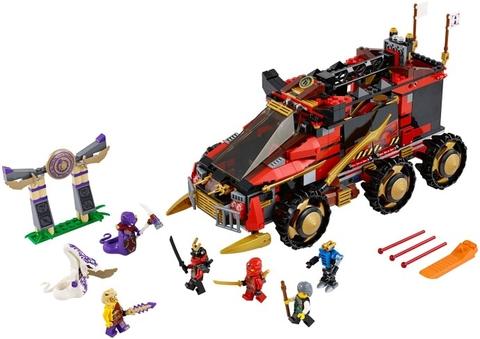 Tất cả các mô hình trong bộ đồ chơi Lego Ninjago 70750 - Ninja DB X