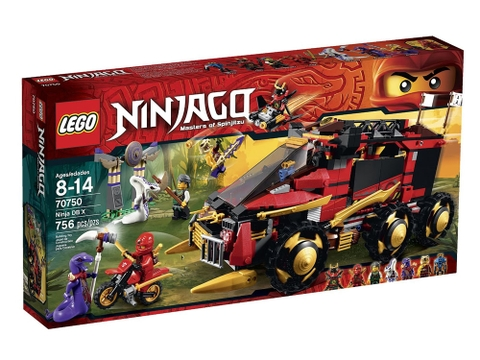 Vỏ hộp Lego Ninjago 70750 - Ninja DB X
