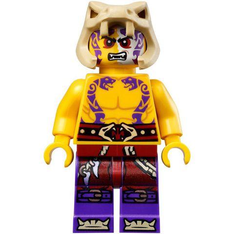 Hình ảnh 2 nhân vật trong bộ xếp hình Lego Ninjago 70753 - Thác Nham Thạch