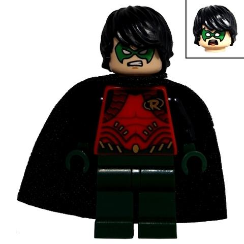 Người dơi xuất hiện trong bộ xếp hình Lego Super Heroes 76034 - Truy Đuổi Tàu Dơi