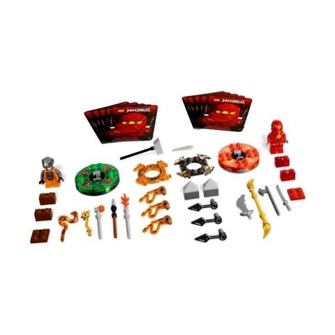 Các mảnh ghép có trong bộ Lego Ninjago 9591 - Túi vũ khí