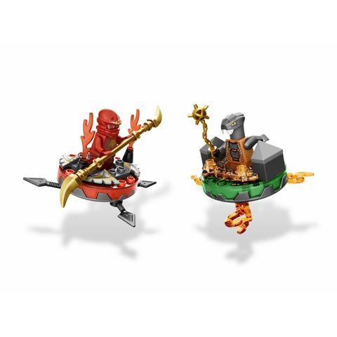 Các nhân vật trong bộ Lego Ninjago 9591 - Túi vũ khí