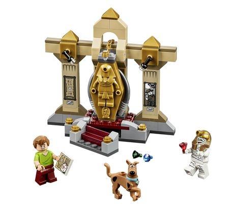 Bộ xếp hình Lego Scooby-Doo 75900 - Bảo Tàng Xác Ướp Bí Ẩn thú vị và an toàn với tất cả các bé