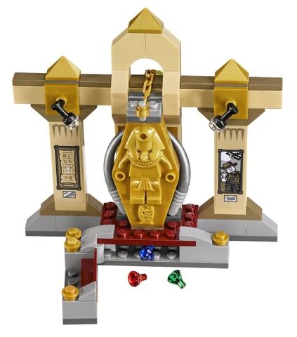 Rèn luyện và phát triển thật nhiều các kỹ năng cho bé với bộ đồ chơi Lego Scooby-Doo 75900 - Bảo Tàng Xác Ướp Bí Ẩn