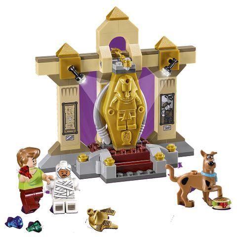 Trọn bộ các chi tiết sẽ xuất hiện trong Lego Scooby-Doo 75900 - Bảo Tàng Xác Ướp Bí Ẩn