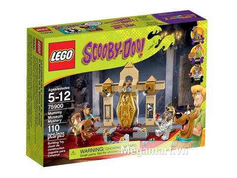 Hỉnh ảnh thực tế vỏ hộp sản phẩm Lego Scooby-Doo 75900 - Bảo Tàng Xác Ướp Bí Ẩn