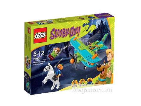 Hình ảnh vỏ ngoài của Lego Scooby-Doo 75901 - Máy Bay Thám Hiểm Màu Nhiệm
