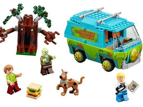 Bộ xếp hình Lego Scooby-Doo 75902 - Máy Thám Hiểm Màu Nhiệm mang đến cho bé chuyên phiêu lưu huyền ảo