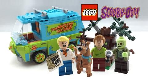Các chi tiết sẽ xuất hiện trong Lego Scooby-Doo 75902 - Máy Thám Hiểm Màu Nhiệm