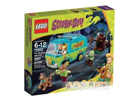 Hình ảnh vỏ hộp bộ đồ chơi Lego Scooby-Doo 75902 - Máy Thám Hiểm Màu Nhiệm