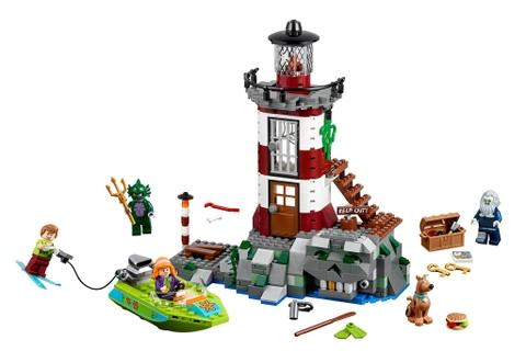 Trọn bộ các chi tiết có trong bộ xếp hình Lego Scooby-Doo 75903 - Ngọn Hải Đăng Ma Ám
