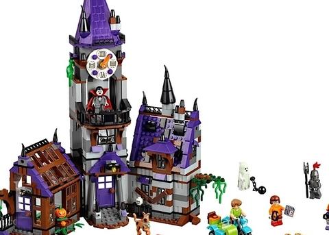 Bộ xếp hình Lego Scooby-Doo 75904 - Lâu đài bí ẩn với chất liệu đặc biệt an toàn