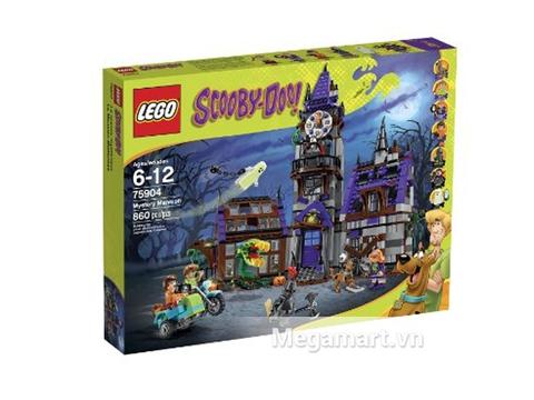 Hỉnh ảnh thực tế vỏ hộp sản phẩm Lego Scooby-Doo 75904 - Lâu đài bí ẩn