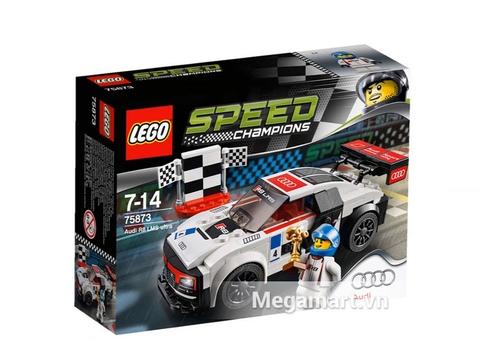 Thông tin chung bộ Lego Speed Champions 75873 - Xe Đua Audi R8 LMS Ultra