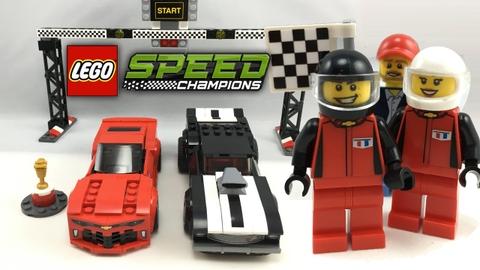 Toàn bộ bộ ghép hình Lego Speed Champions 75874 - Xe Đua Chevrolet Camaro Drag Race hấp dẫn với trẻ