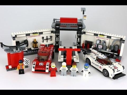 Giải đua gay cấn trong bộ xếp hình Lego Speed Champions 75876 - Xe Đua Porsche 919 Hybrid Và Xe Đua 917K Pit Lane