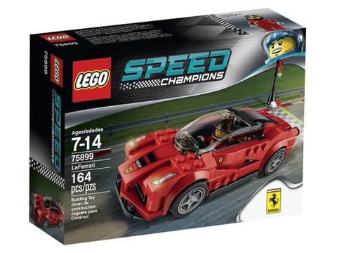 Vỏ hộp thực tế của sản phẩm Lego Speed Champions 75899 - Ferrari LaFerrari