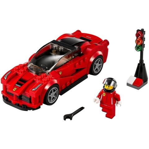 Bộ xếp hình Lego Speed Champions 75899 - Ferrari LaFerrari giúp bé phát triển toàn diện hơn