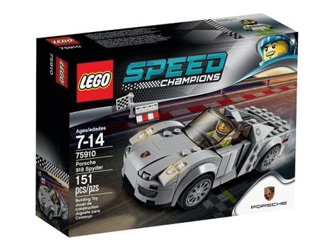 Hình ảnh sản phẩm Lego Speed Champions 75910 - Porsche 918 Spyder
