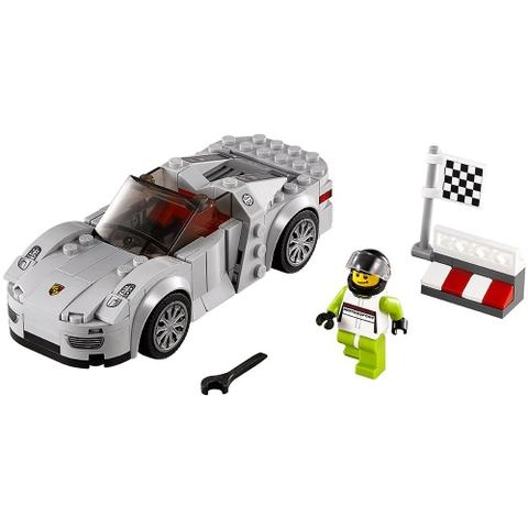 Bộ xếp hình Lego Speed Champions 75910 - Porsche 918 Spyder cho bé trở thành những tay đua tốc độ