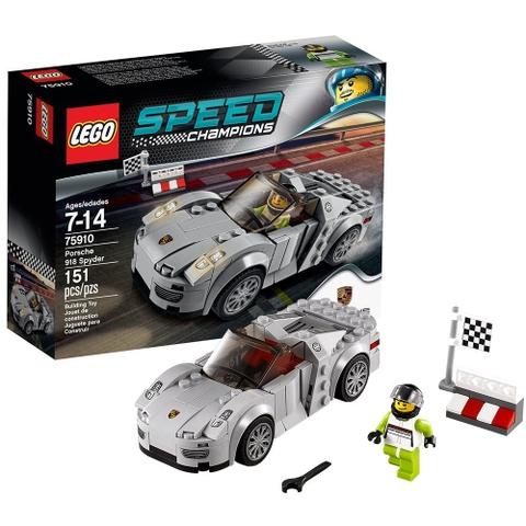 Bộ sản phẩm Lego Speed Champions 75910 - Porsche 918 Spyder