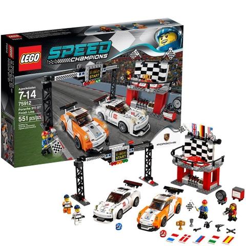 Bộ sản phẩm Lego Champions 75912 - Đích đến Porsche 911 GT